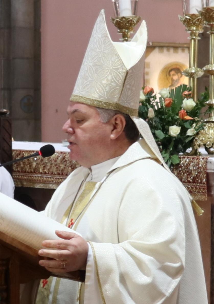 Départ de Mgr Luciano Russo, Nonce Apostolique en Algérie