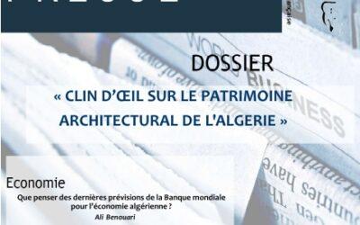 Nouvelle revue de presse du CDES d'Oran en Français et Arabe