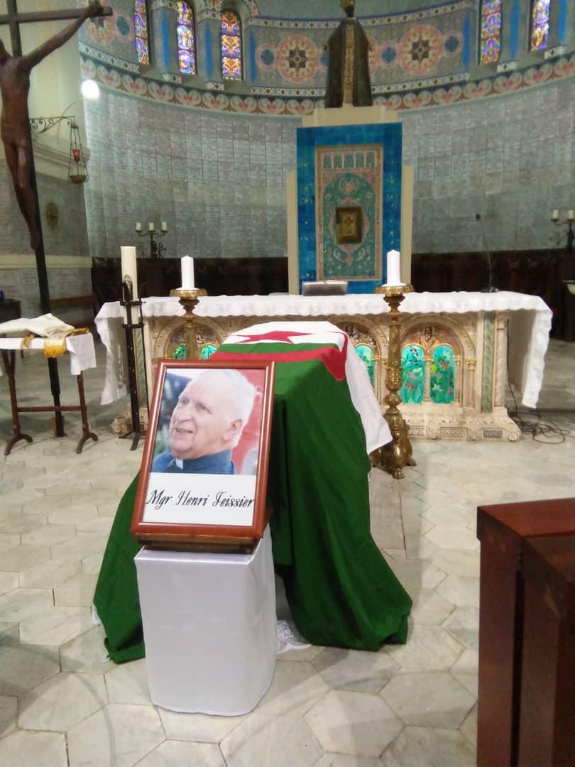 Album photos et vidéos, dernier hommage à Mgr Teissier,  Notre Dame d'Afrique