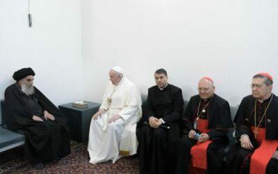 لقاء بين الكاردينال غريغوري والإمام كشميري حول لقاء البابا مع السيستاني في النجف