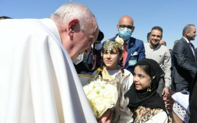 الزيارة الرسوليّة إلى العراق كلمة قداسة البابا فرنسيس في اللقاء بين الأديان في سهل أور السبت 6 مارس / آذار 2021