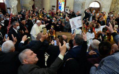 مداخلتان للبطريرك ساكو والكاردينال غيكسوت حول الأثر الذي تركته زيارة البابا إلى العراق