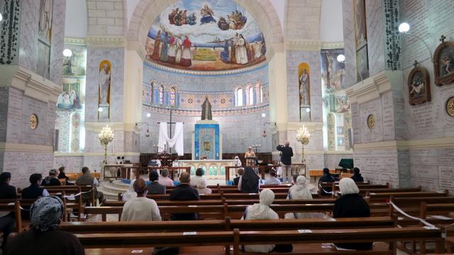 Marathon de prière à Notre Dame d'Afrique