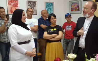 Vernissage à DILOU, Le regard au féminin