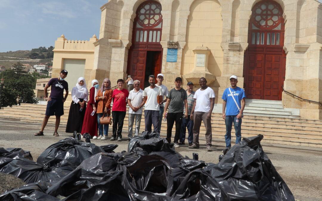 Activité écocitoyenne à Notre Dame d'Afrique